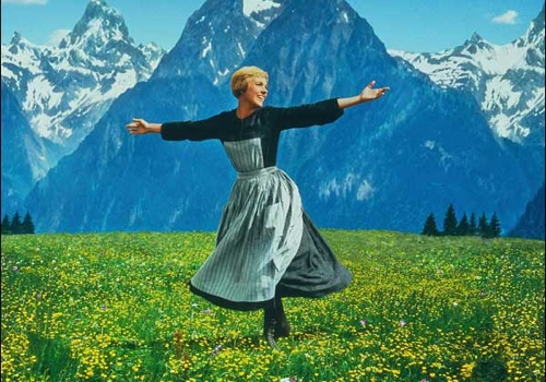 """I couldn't find the bathrooms so I'll just twirl in this field instead."""
